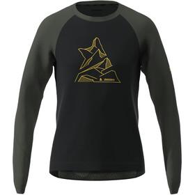 Zimtstern PureFlowz Koszulka z długim rękawem Mężczyźni, pirate black/gun metal